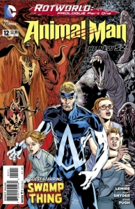 Do not miss out on the adventure of Animal Man.