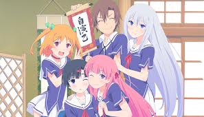 Possibly the greatest harem cast I have ever encountered
