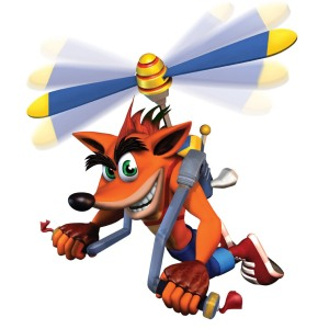 Crash is the renaissance man of gaming.
