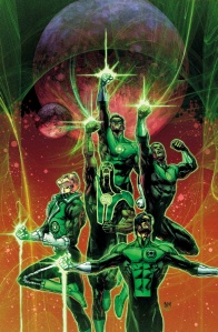 We have quite a few Green Lanterns over here on Earth.