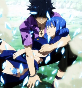 I like Gruvia because I love Juvia and she deserves happiness.