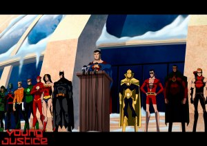 The Justice League isn't the only team of heroes out there protecting the world.