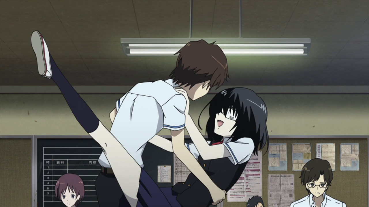 Top Picks     The 10 Best Anime Couples of 2012Another Kouichi And Misaki