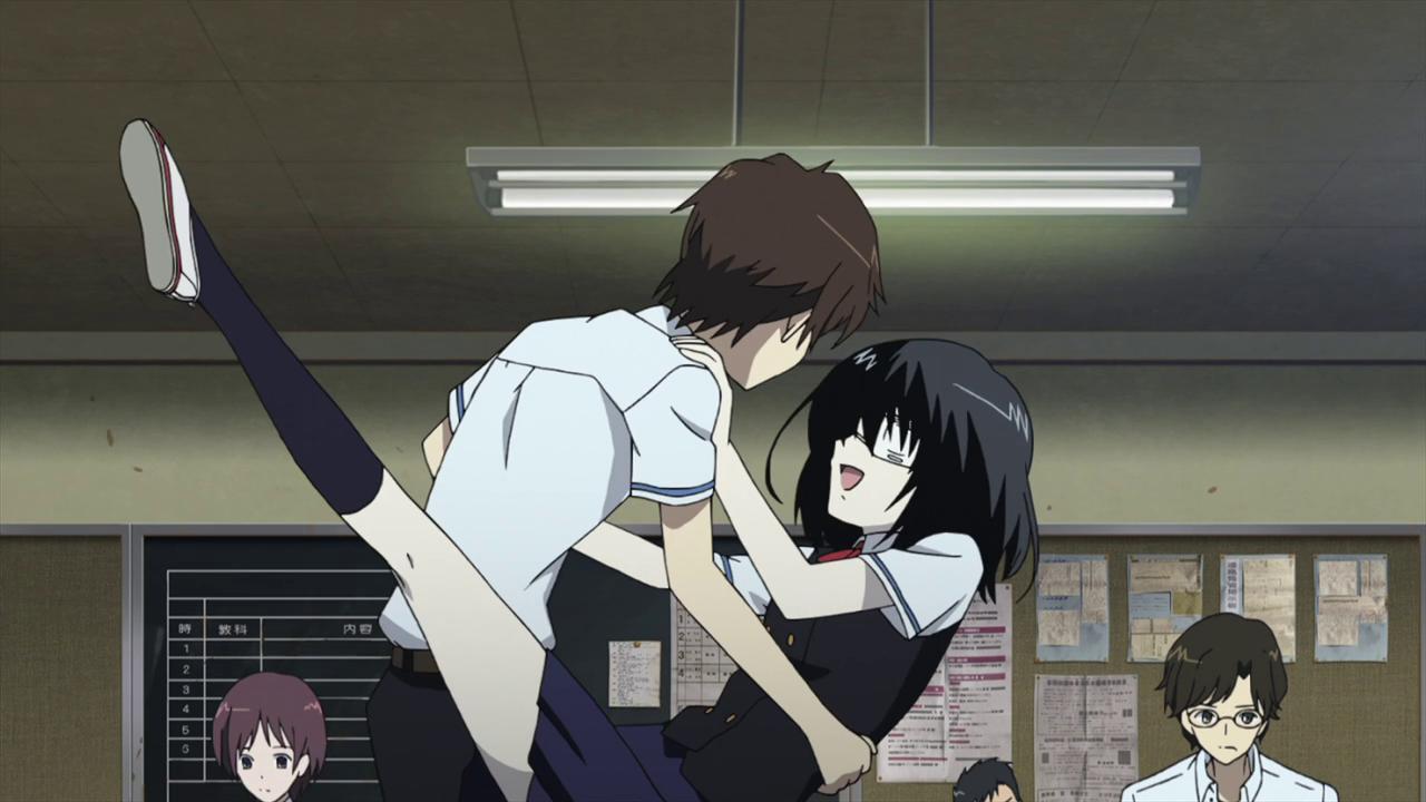 Top Picks – The 10 Best Anime Couples of 2012 | Mahou Tofu Another Kouichi And Misaki