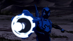 Well, we still get to see Jaime Reyes dawn the blue armor.