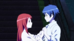 I wish there was a little more romance between Yuusha and Maou in this series.