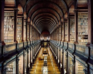 I could spend hours in a good library.
