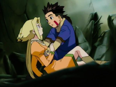 I never expected this much romance in Zoids.