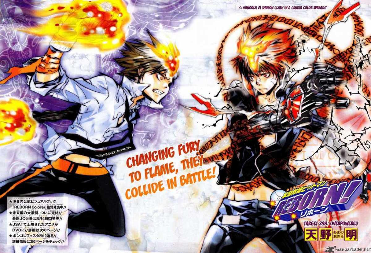 Review Katekyo Hitman Reborn Manga Mahou Tofu