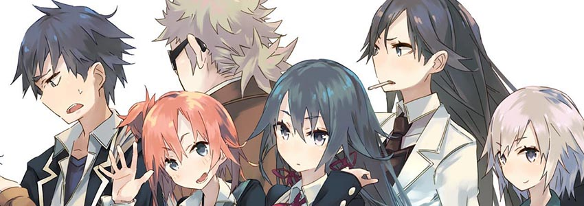 Resultado de imagem para Yahari Ore no Seishun Love Comedy wa Machigatteiru review