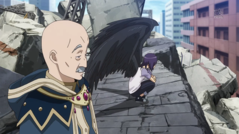 Working with a fallen angel is bad.