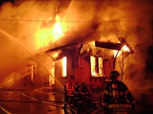 Fire is pretty destructive.