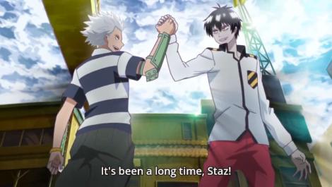 Even Staz has friends.