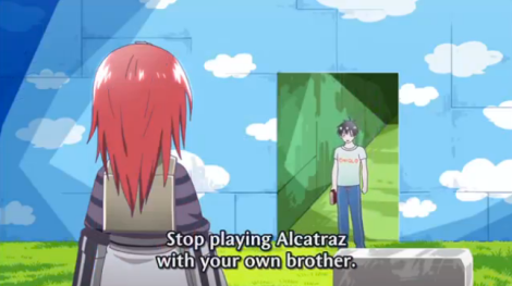Staz is not respecting his sister's power.