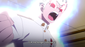 It appears Ishimaru has gone Super Saiyan.