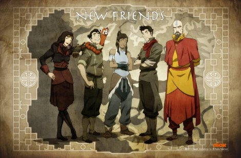 Does every Team Avatar need members of all four nations and a non bender?