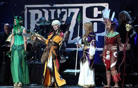 Cosplayers at conventions should have a future in costume design.