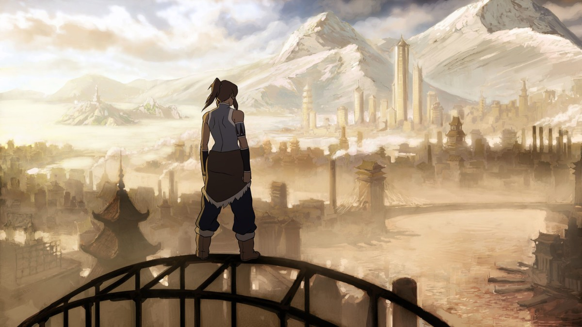Review - Avatar: The Legend of Korra Book 1: Air
