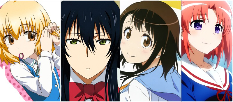 Anime Characters 2014 : Poll favorite female anime character of winter