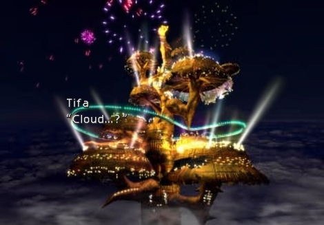 Final Fantasy VII Screenshot  9 date night gold saucer tifa