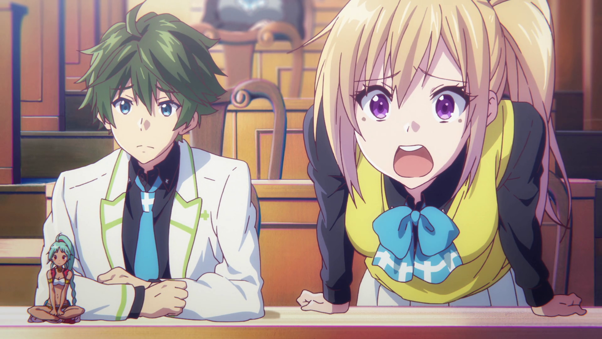 impression  u2013 musaigen no phantom world  episode 01